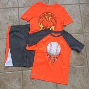 Jumping Beans Boys SS Athletic Tee Shirts & Shorts